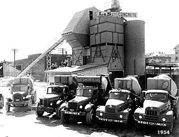 L&S Concrete 1954