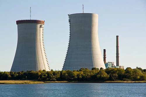 Cement for Brayton Point Cooling Towers
